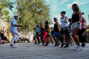 Cours de Zumba organisé par Samir Labidi
