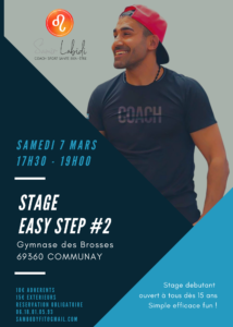 STAGE EASY STEP #2